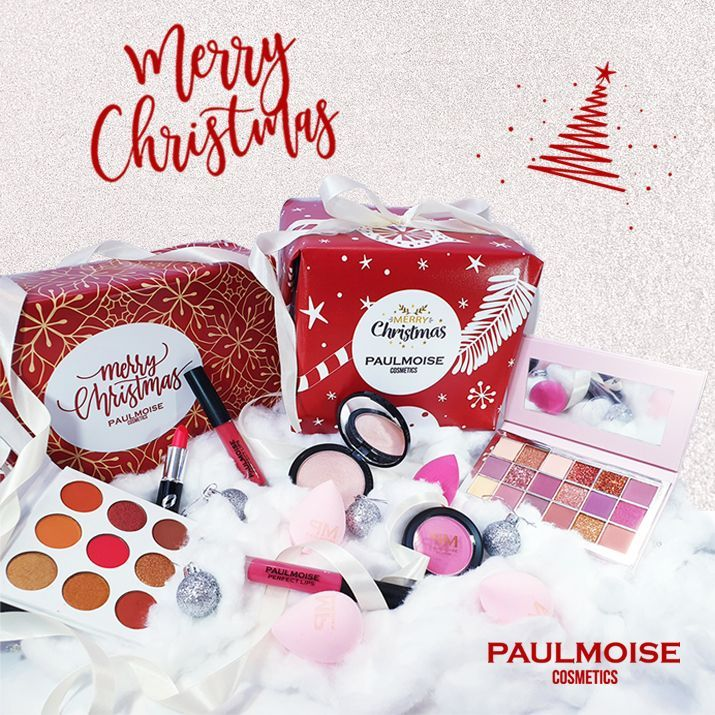 Merry Christmas Box by PaulMoise Cosmetics
